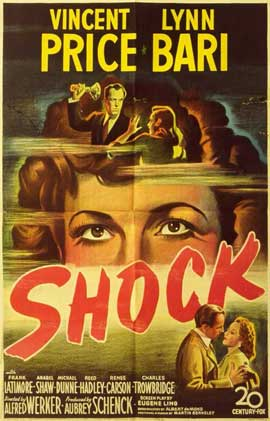 Shock - 11 x 17 Movie Poster - Style A