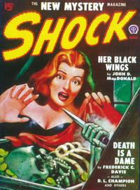 Shock (Pulp) - 11 x 17 Pulp Poster - Style A