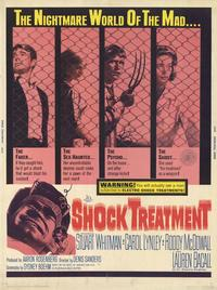 Shock Treatment - 11 x 17 Movie Poster - Style B