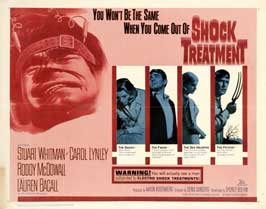 Shock Treatment - 22 x 28 Movie Poster - Half Sheet Style A
