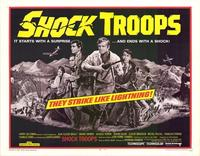 Shock Troops - 11 x 14 Movie Poster - Style A