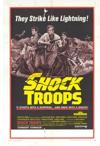 Shock Troops - 11 x 17 Movie Poster - Style A