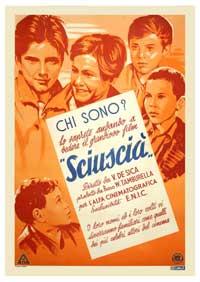 Shoe Shine - 11 x 17 Movie Poster - Italian Style B