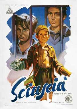 Shoeshine - 11 x 17 Movie Poster - Italian Style B