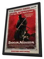 Shogun Assassin - 27 x 40 Movie Poster - Danish Style A - in Deluxe Wood Frame