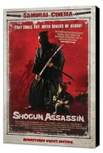 Shogun Assassin - 27 x 40 Movie Poster - Danish Style A - Museum Wrapped Canvas