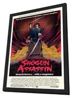 Shogun Assassin - 11 x 17 Movie Poster - Style A - in Deluxe Wood Frame