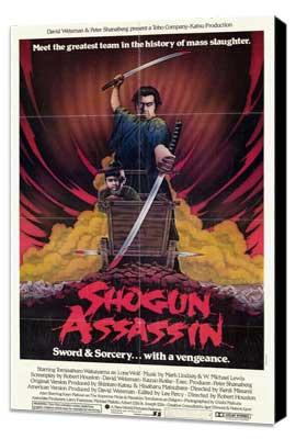Shogun Assassin - 27 x 40 Movie Poster - Style A - Museum Wrapped Canvas
