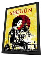 Shogun - 11 x 17 Movie Poster - Style A - in Deluxe Wood Frame