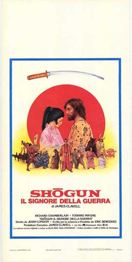 Shogun - 11 x 17 Movie Poster - Italian Style A