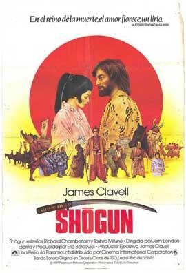 Shogun - 27 x 40 Movie Poster - Spanish Style A