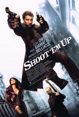 Shoot 'Em Up - 27 x 40 Movie Poster - Style A