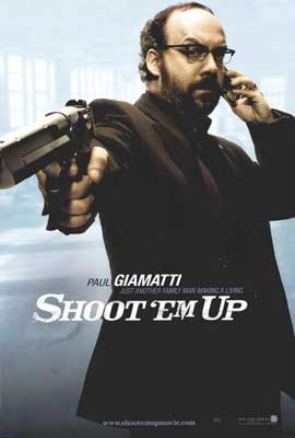 Shoot 'Em Up - 27 x 40 Movie Poster - Style B