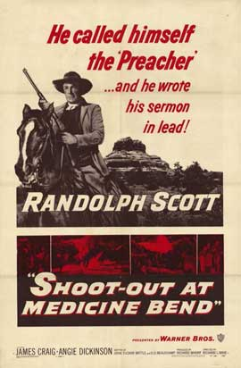 Shoot-Out at Medicine Bend - 11 x 17 Movie Poster - Style A