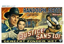 Shoot-Out at Medicine Bend - 11 x 17 Movie Poster - Belgian Style A