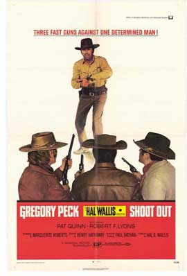 Shoot Out - 11 x 17 Movie Poster - Style A