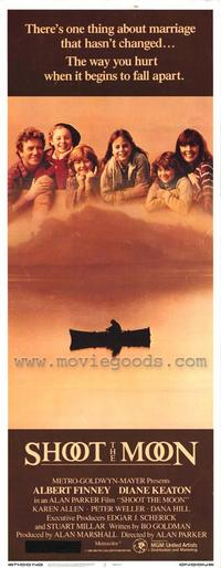 Shoot the Moon - 14 x 36 Movie Poster - Insert Style A