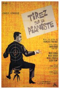 Shoot the Piano Player - 27 x 40 Movie Poster - Foreign - Style A