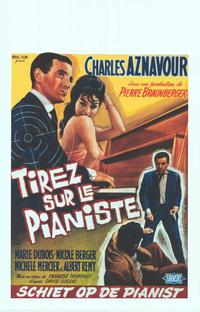 Shoot the Piano Player - 11 x 17 Movie Poster - Belgian Style A