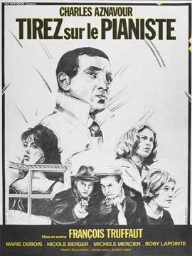 Shoot the Piano Player - 11 x 17 Movie Poster - French Style A