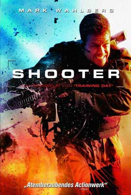 Shooter - 27 x 40 Movie Poster - German Style A