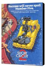 Short Circuit 2 - 27 x 40 Movie Poster - Style A - Museum Wrapped Canvas
