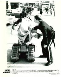 Short Circuit 2 - 8 x 10 B&W Photo #8