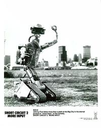 Short Circuit 2 - 8 x 10 B&W Photo #14