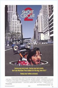 Short Circuit 2 - 43 x 62 Movie Poster - Bus Shelter Style A