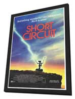 Short Circuit - 27 x 40 Movie Poster - Style B - in Deluxe Wood Frame