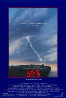 Short Circuit - 27 x 40 Movie Poster - Style C