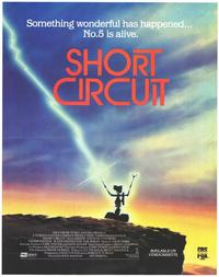 Short Circuit - 43 x 62 Movie Poster - Bus Shelter Style A