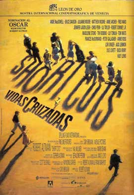 Short Cuts - 11 x 17 Movie Poster - Spanish Style A