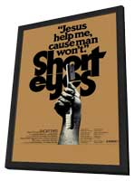 Short Eyes - 11 x 17 Movie Poster - Style A - in Deluxe Wood Frame