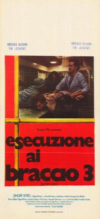 Short Eyes - 27 x 40 Movie Poster - Italian Style A