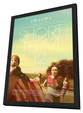 Short Term 12 - 11 x 17 Movie Poster - Style A - in Deluxe Wood Frame
