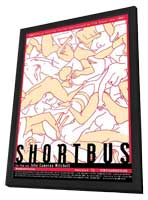 Shortbus - 11 x 17 Movie Poster - Austrian Style A - in Deluxe Wood Frame