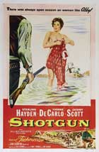 Shotgun (1955) - 27 x 40 Movie Poster - Style A