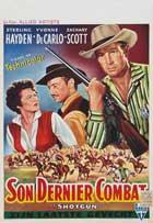Shotgun (1955) - 27 x 40 Movie Poster - Belgian Style A