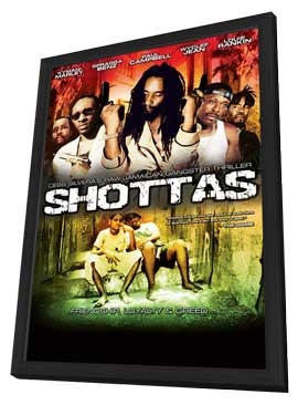 Shottas - 27 x 40 Movie Poster - Style A - in Deluxe Wood Frame