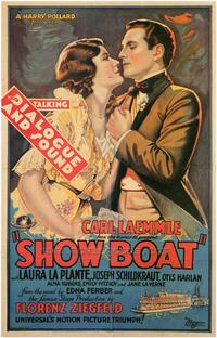 Show Boat - 43 x 62 Movie Poster - Bus Shelter Style A