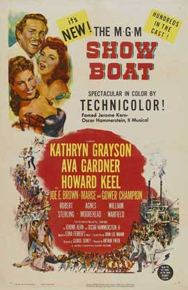 Show Boat - 27 x 40 Movie Poster - Style B