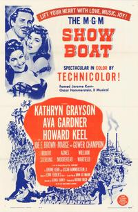 Showboat - 43 x 62 Movie Poster - Bus Shelter Style A