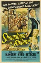Showdown at Abilene - 27 x 40 Movie Poster - Style A