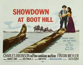 Showdown at Boot Hill - 11 x 14 Movie Poster - Style A