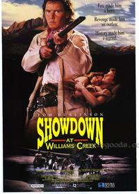 Showdown at Williams Creek - 11 x 17 Movie Poster - Style A