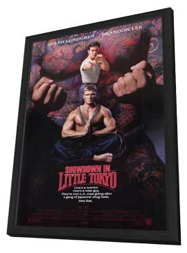 Showdown in Little Tokyo - 11 x 17 Movie Poster - Style A - in Deluxe Wood Frame