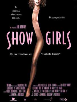Showgirls - 27 x 40 Movie Poster - Spanish Style A