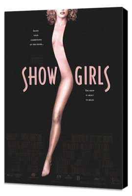 Showgirls - 27 x 40 Movie Poster - Style A - Museum Wrapped Canvas