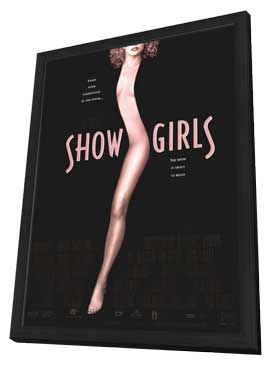 Showgirls - 11 x 17 Movie Poster - Style A - in Deluxe Wood Frame